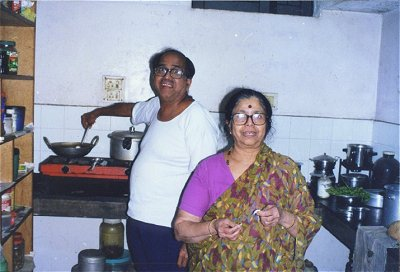 A Picture at the Kamat Kitchen