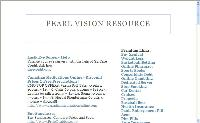 Pearl Vision Resource