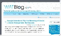 WATBlog.com - The Refreshing Blog on Web, Advertising and Technology in India!