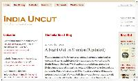 India Uncut - published by Amit Varma