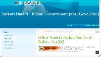 Sarkari Naukri - Indian Government Jobs (Govt Jobs | Employment News | PSU Jobs)