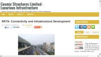 RRTS- Connectivity and Infrastructural Development