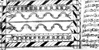 Decorated Chapter Separator of Ancient Textbook