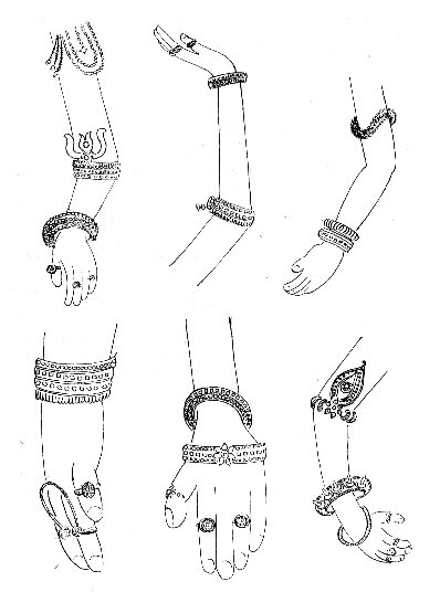 Hand Ornaments of Medieval India