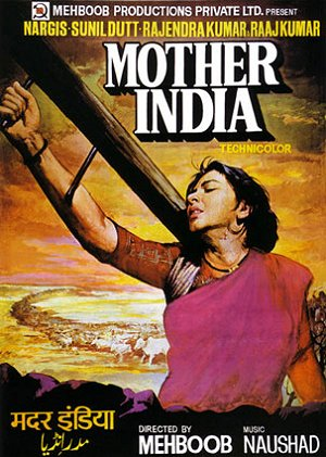 """Poster of Movie """"Mother India"""" (1957)"""