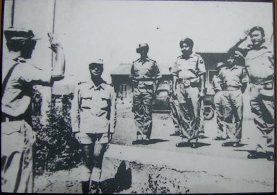 Portuguese Soldiers Surrendering to Indian Army