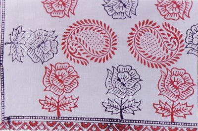 Hand-printed Fabric Designs