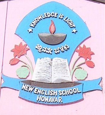 Emblem of New English School, Honavar