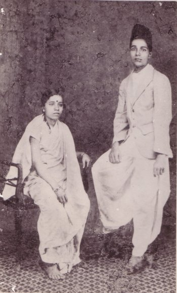 Saraswat Couple, from an Old Photograph