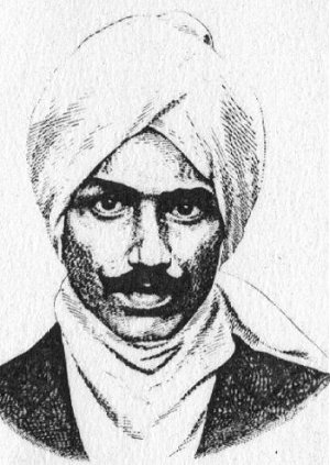 Nationalistic Poet and Composer Bharati