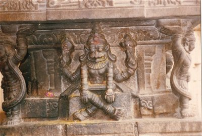 Narasimha (Half-man, Half-lion) in a Yogic Stance