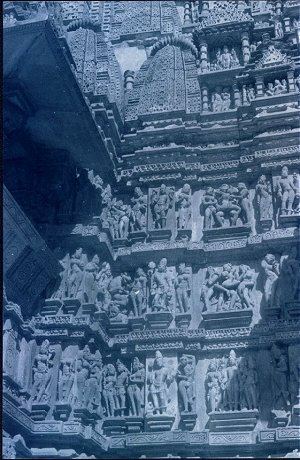 Erotic Sculpures on the Chandela Temples