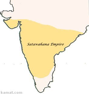 Span of Satavahana Empire
