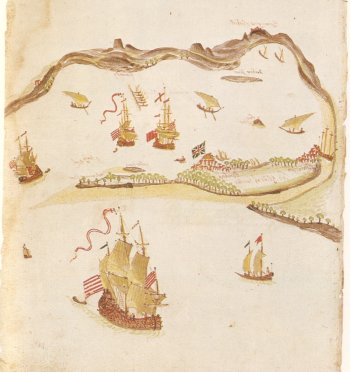 View of Mumbai Port, 1703