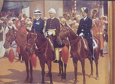 Horse-mounted Officials