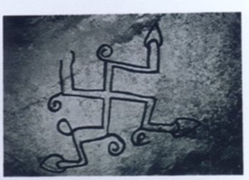 Swastika from a Cave Shelter