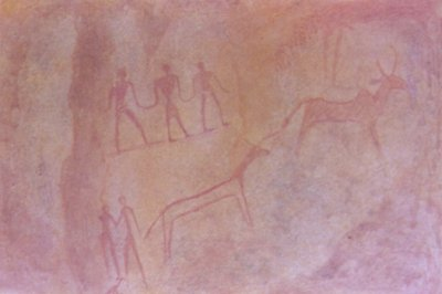 Prehistoric Cave Shelter Painting
