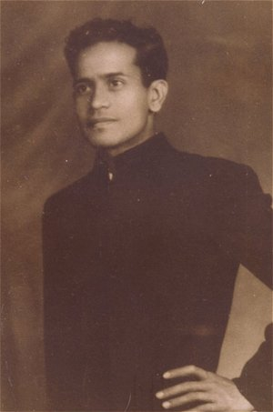 Bhimsen Joshi as a Young Man