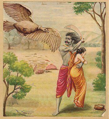 Killing of Jatayu Bird