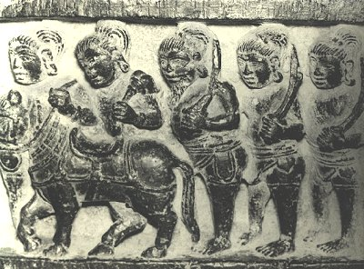 Horse and Warriors