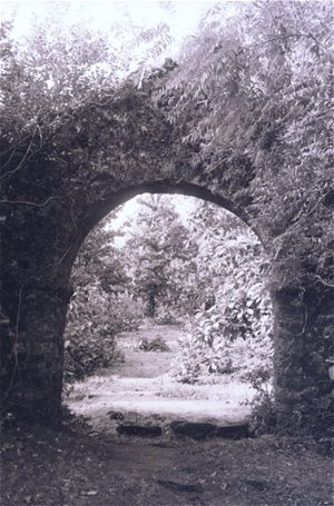 Entrance of an abandoned fort