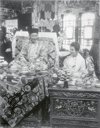 Prince of Sikkim and American Bride
