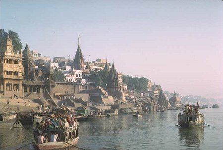 Ganges River in Varanasi
