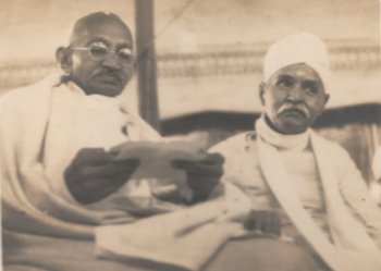 Gandhi with Malaviya