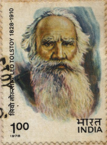 Indian Stamp Honoring Tolstoy