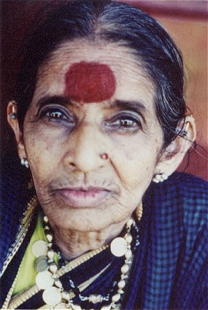 symbol on forehead indian women kamat s potpourri living Shaker Wood Kitchen Cabinets All Wood Kitchen Cabinets
