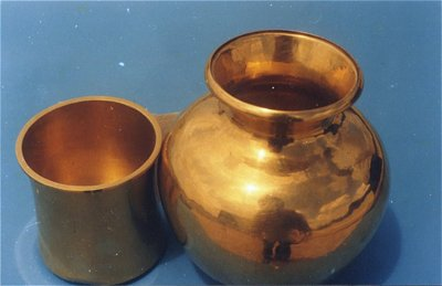 Vessels Made of Gold