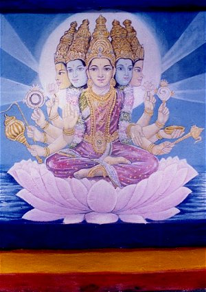 Five Headed Goddess Lakshmi
