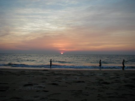 Sunset at Hodbandur Beach, Kumta