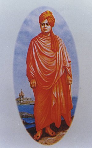 The Hindu Monk from India