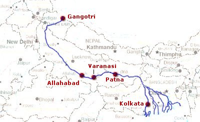 The Course of River Ganga