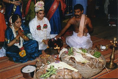 Proceedings of Vivaha Ritual