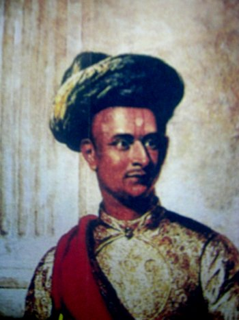 Portrait of Dewan Poornayya