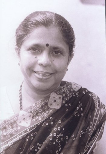 Portrait of Jyotsna Kamat