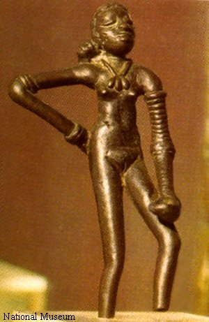 Dancer in  Repose - Indus Valley Art