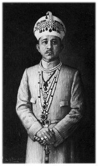 Salar Jung, a Minister of Nizam of Hyderabad