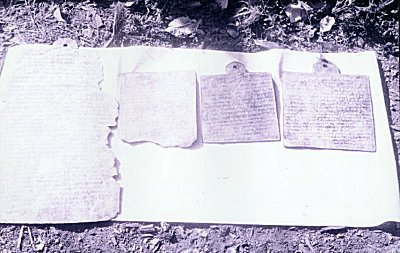 Copper Plates of the Mahale Family