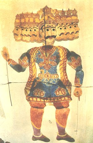 Ravana, the King of Sri Lanka