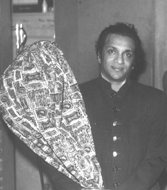 Pandit Ravi Shankar with his Tool