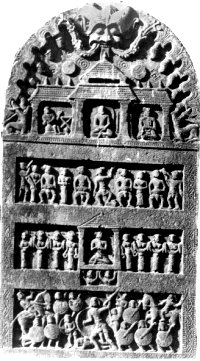A Hero-stone found in Andhra Pradesh
