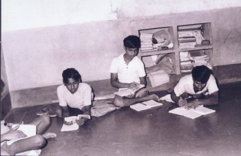 Handicapped Children Studying