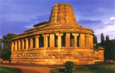 Unique Temple of Aihole, 7th Century A.D.