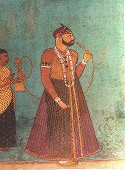The Long Gown Worn by a Nawab