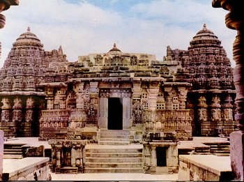 Example of a Hoysala Temple