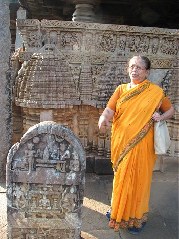 The Author in Amriteshwara Temple