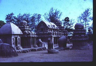 Pavilions and Sculptures of Mahabalipuram